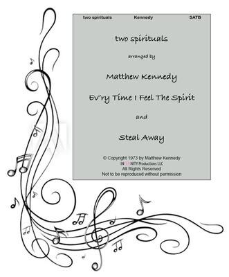 """""""two spirituals"""" arranged by Matthew Kennedy"""