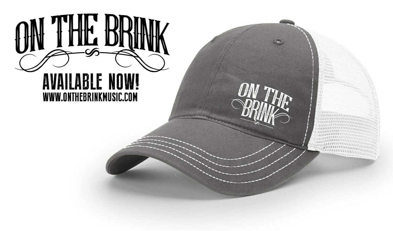 On The Brink Logo Trucker Hat