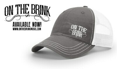 On The Brink Logo Trucker Hat