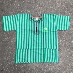 CYAM Dark Green Stripe Dashiki w/ Green CYAM Emblem