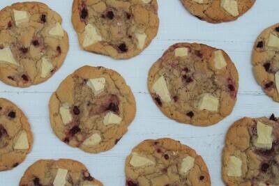 Raspberry & White Chocolate Cookie