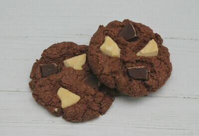 Gluten Free Triple Chocolate Cookies