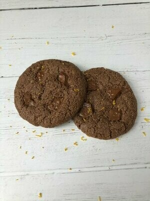 Gluten Free Chocolate Orange Cookies