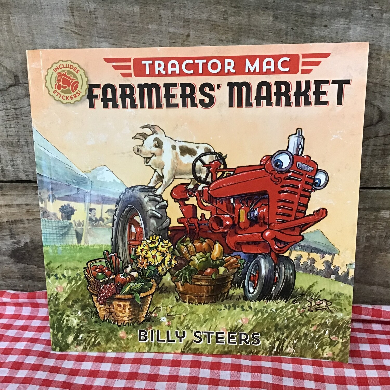 Tractor Mac Farmers Market Book