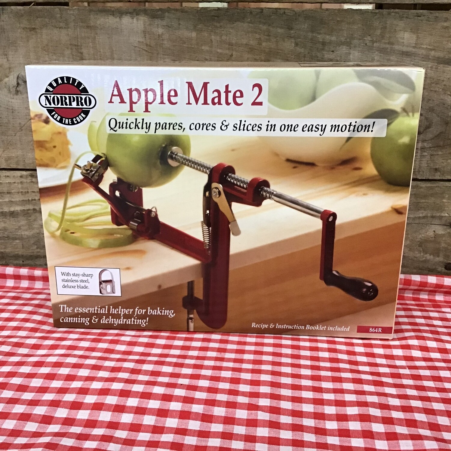 Apple Peeler - Clamp