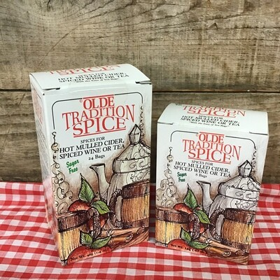 Olde Tradition Spice 24 bag box