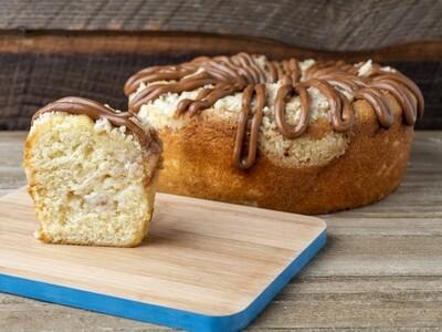 Apple Caramel Cake Loaf