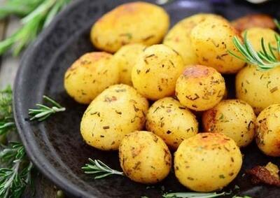 Portie gebakken patatjes / 1 persoon