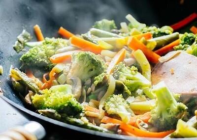 Wok met groenten / 1 persoon