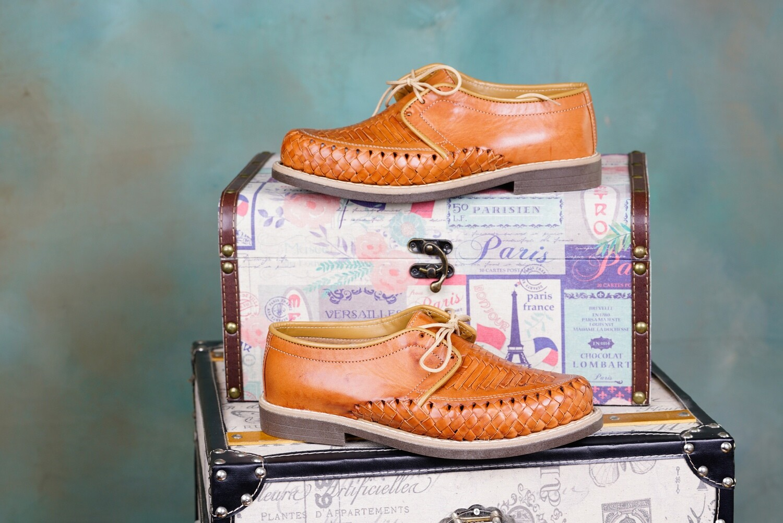 005-03 Mens Dress Shoe Light Brown