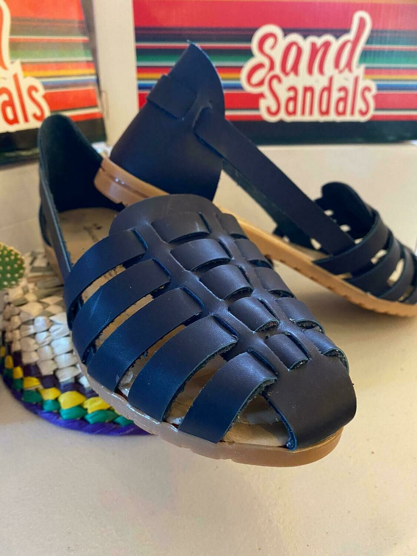 068-05 SANDALS CLOSE BLUE