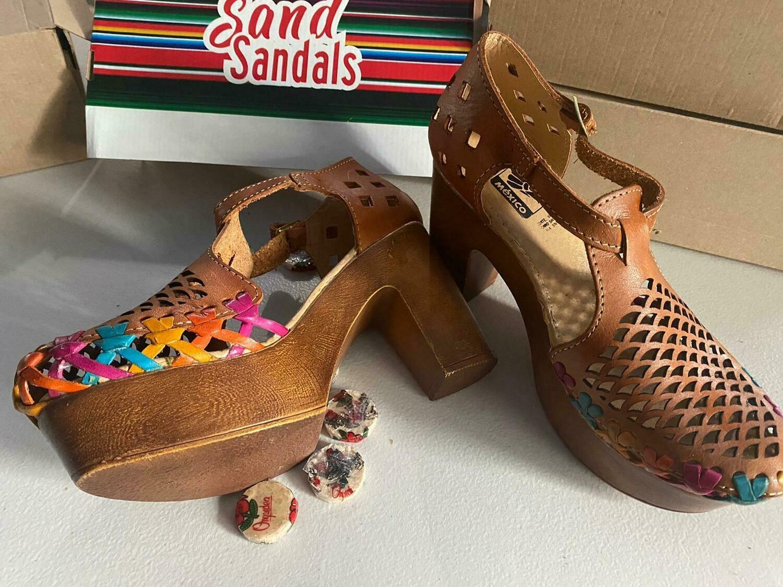 1116-01 OG  Chunky heel
