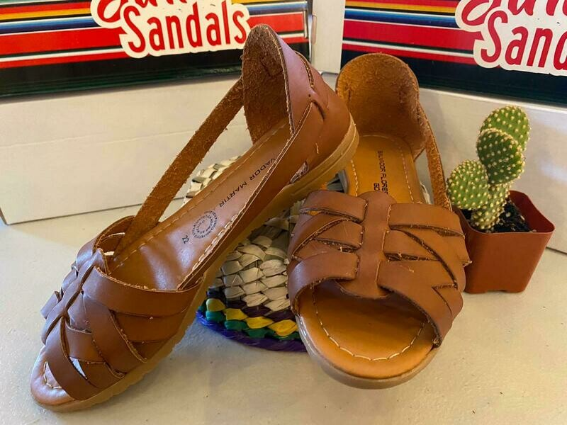 069-08 Sandals Chocolate
