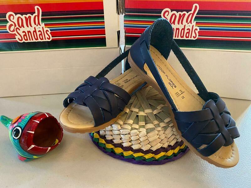 069-01 Ssandals Blue