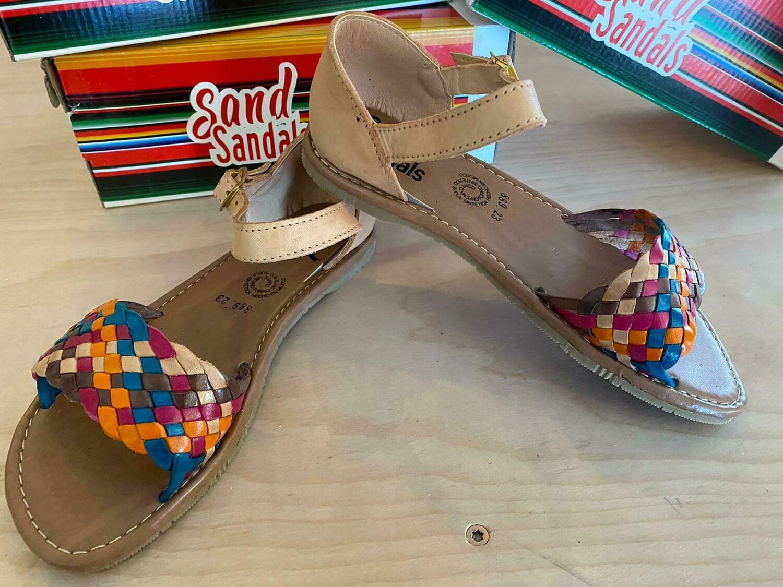 889-04 Ssandal Tan Colors