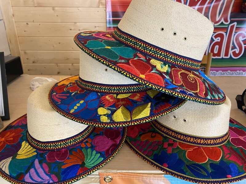 Embroidered Palma Hats