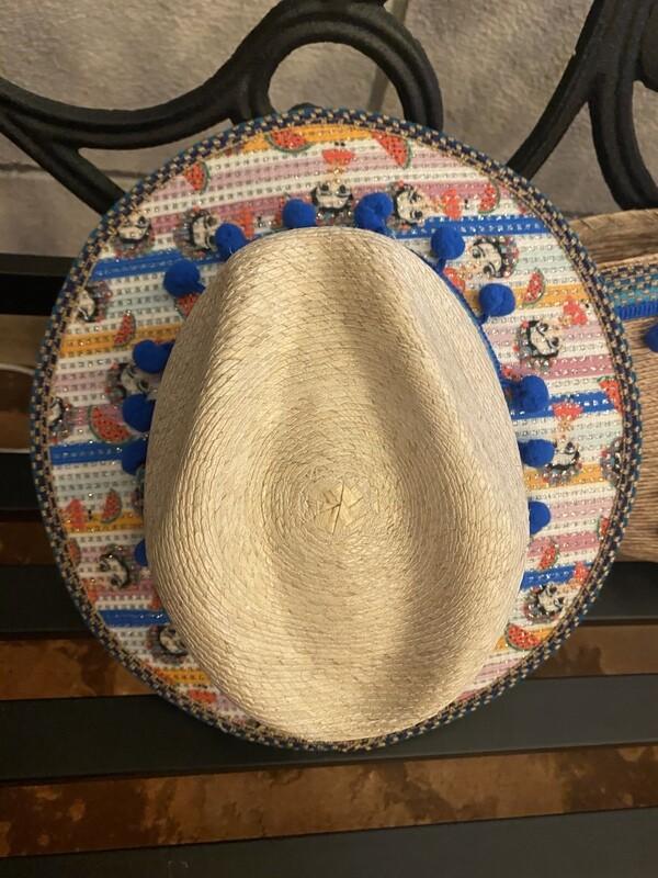 Frida Hat & bag floral set for girls