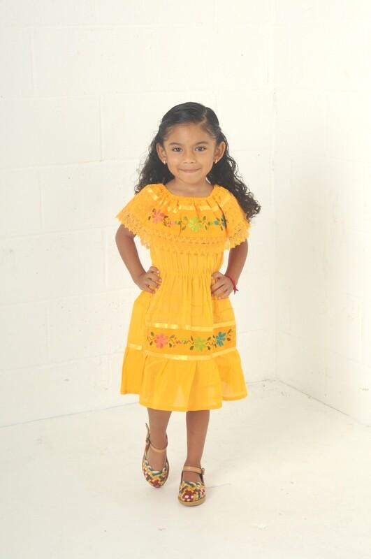 Campesina Girl Dress