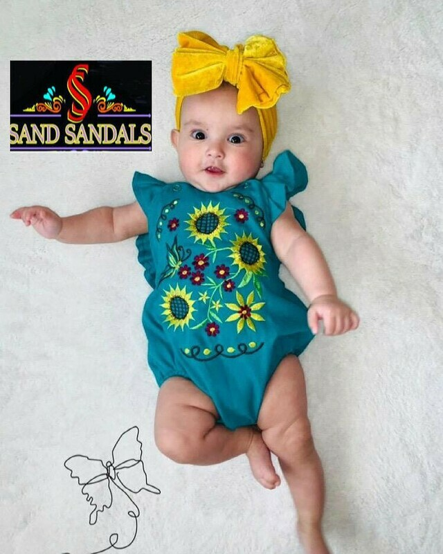 Baby Embroidered Rompers