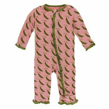 Kickee Pants Strawberry Sweet Pea Coverall