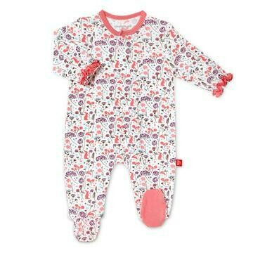 Magnetic Me Beatrix Floral Modal Footie 17418