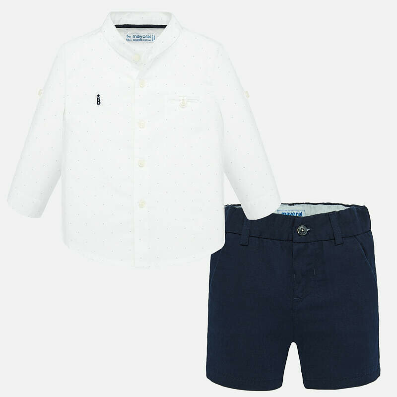 Mayoral Short Set Navy