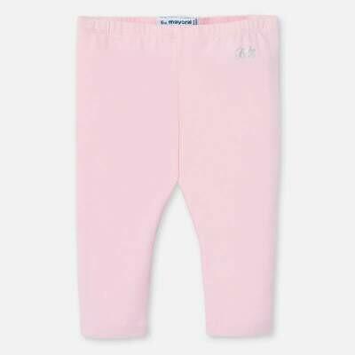 Mayoral Baby Girls Basic Long Leggings Pink 703