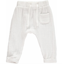 Me & Henry Pant White  HB186A