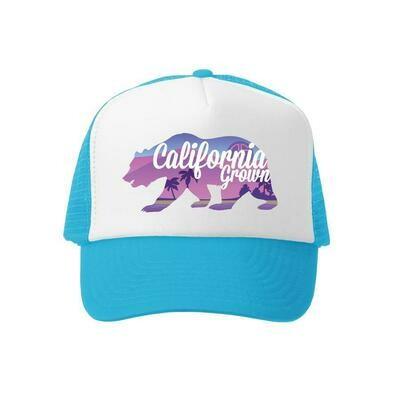 Grom Squad Hat California-Turquoise