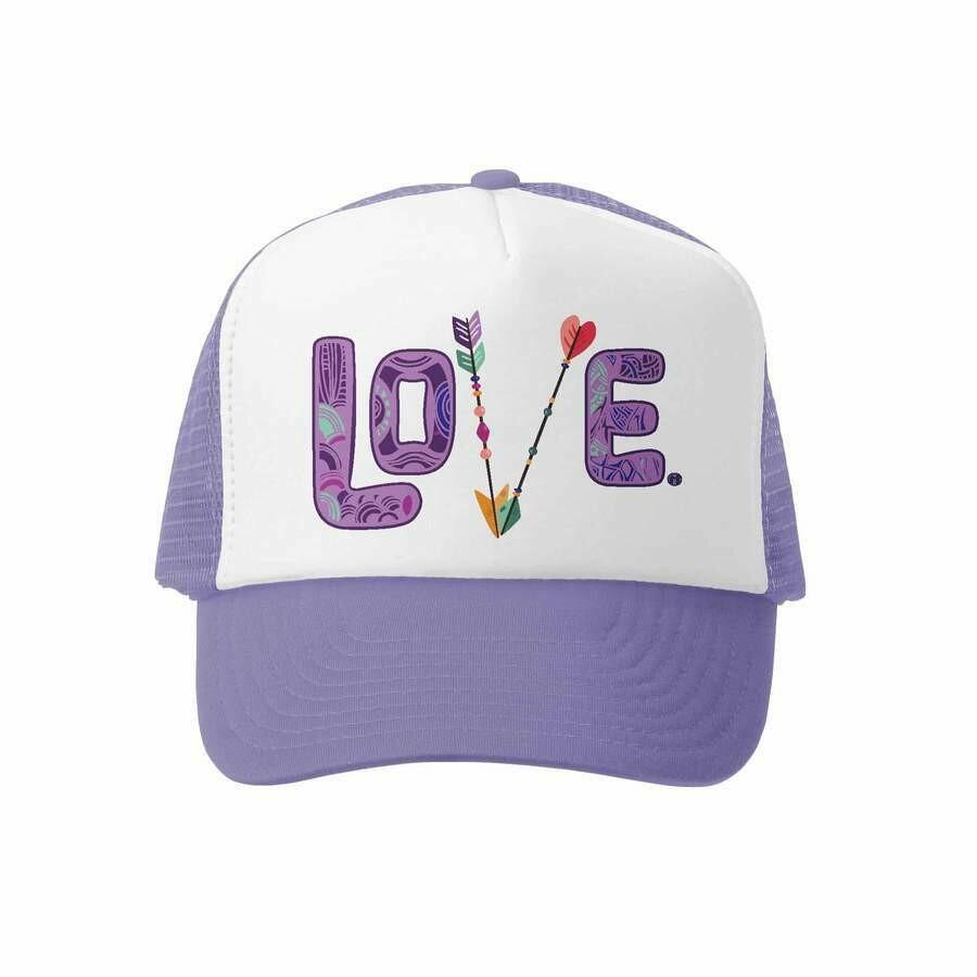 GROM SQUAD LOVE HAT PURP