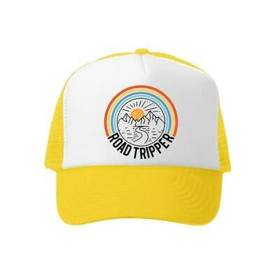 Grom Squad Hat Road Tripper-Yellow