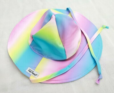 Flap Happy Rainbow Floppy Hat
