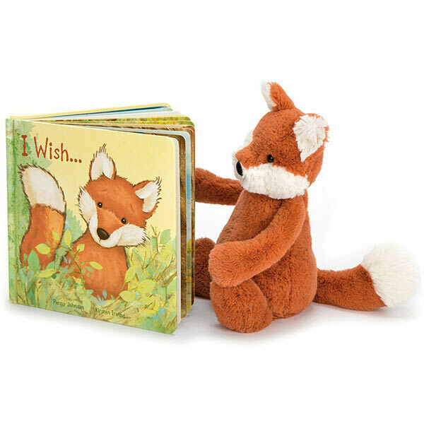 JellyCat I Wish.... Book