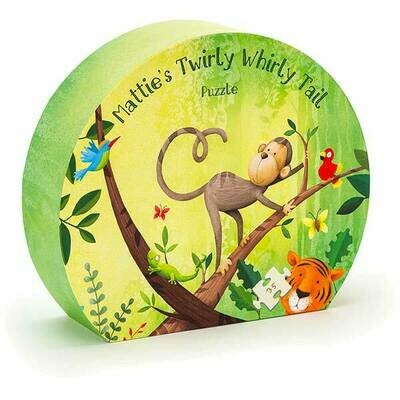 JellyCat Mattie Monkey Puzzle