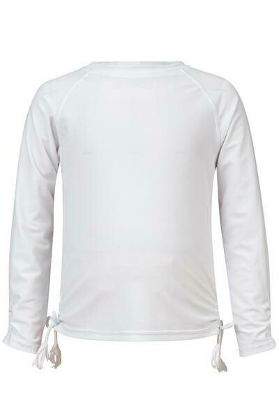 Snapper Rock White L/S Rash