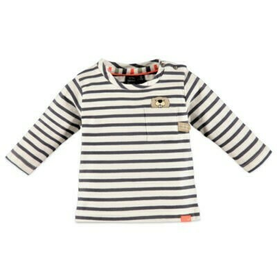 Babyface Boys T-shirt stripe SHADOW  #0127603