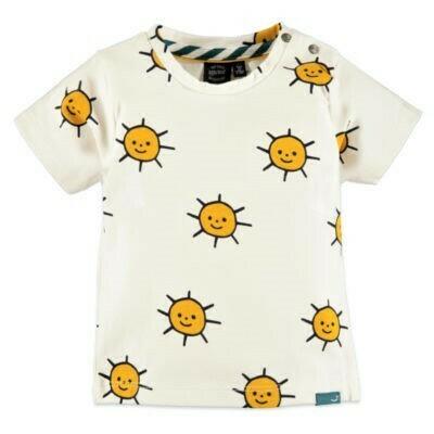 Babyface Boys T-shirt OFF WHITE sun #0127626