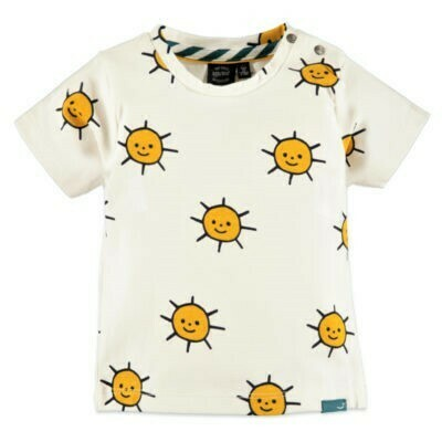 Babyface Boys T-shirt OFF WHITE sun #0127626