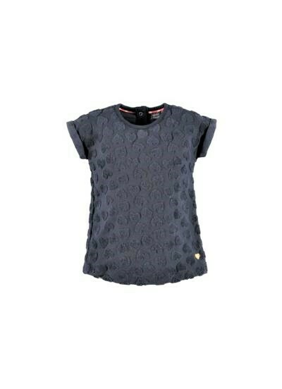 Babyface Girls Dress BLUE NAVY 0108706