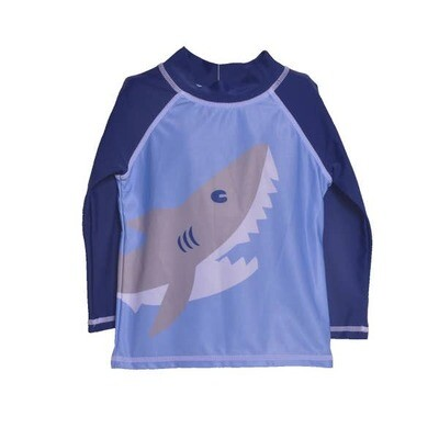 Flap Happy Happy Shark L/S Rash