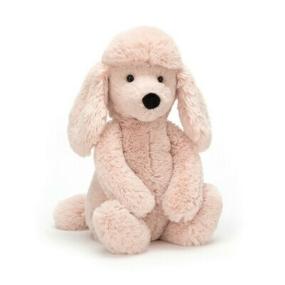 JellyCat Bashful Blush Poodle Medium 12""