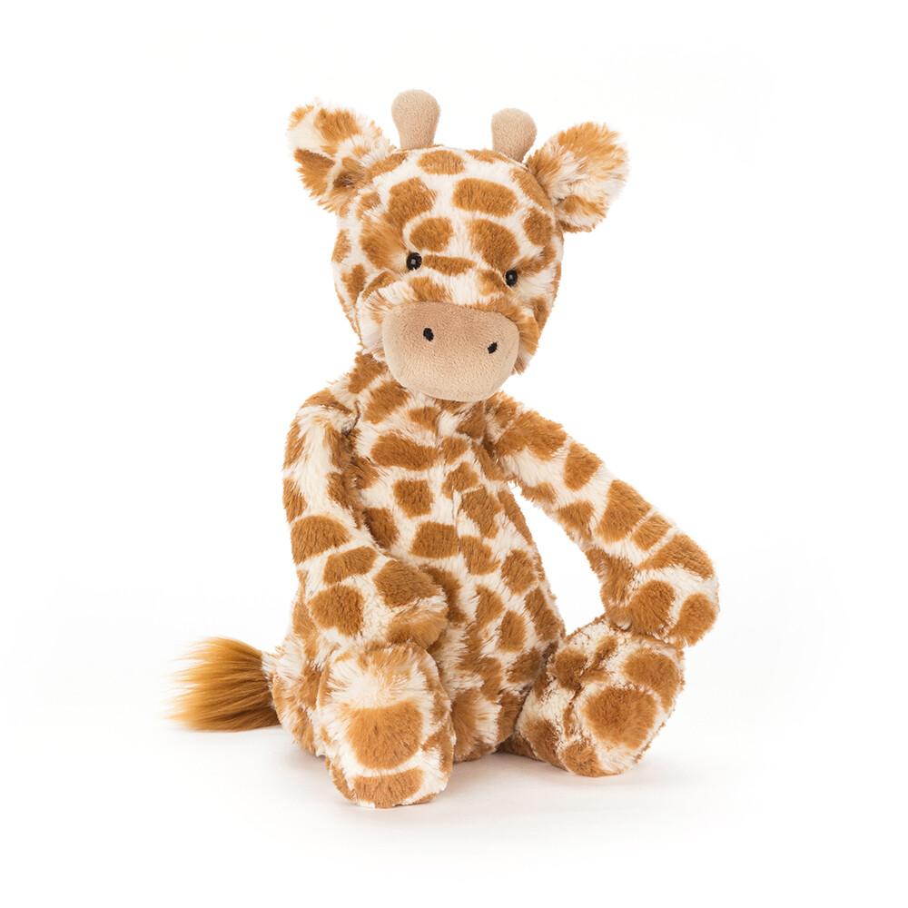 "JellyCat Bashful Giraffe Medium 12"""