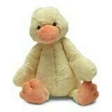 "JellyCat Bashful Duck Medium 12"""