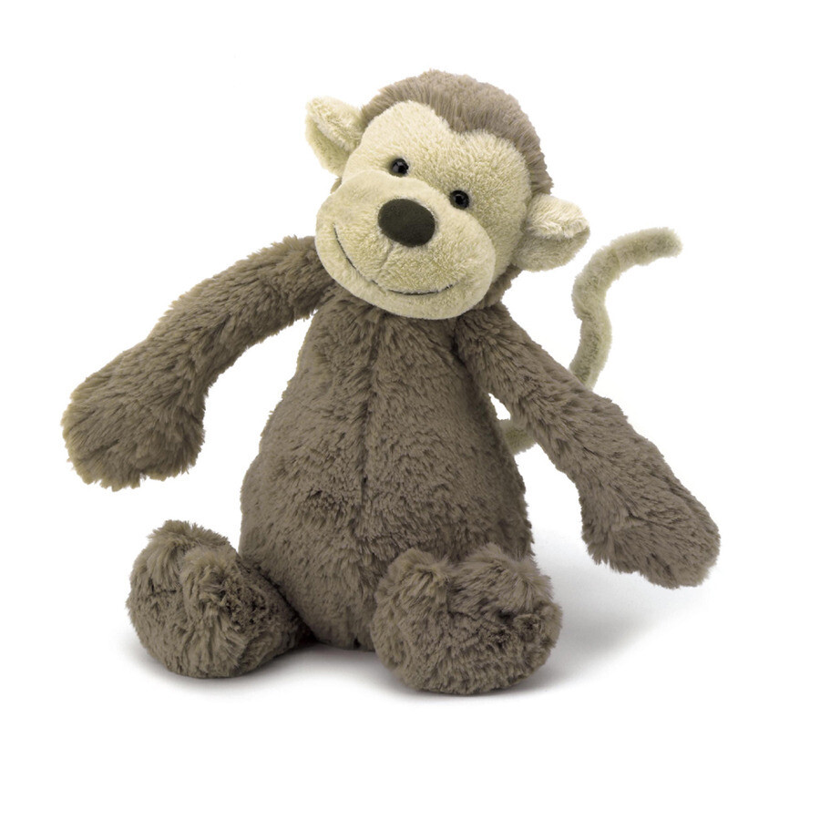 JellyCat Bashful Monkey Medium 12""