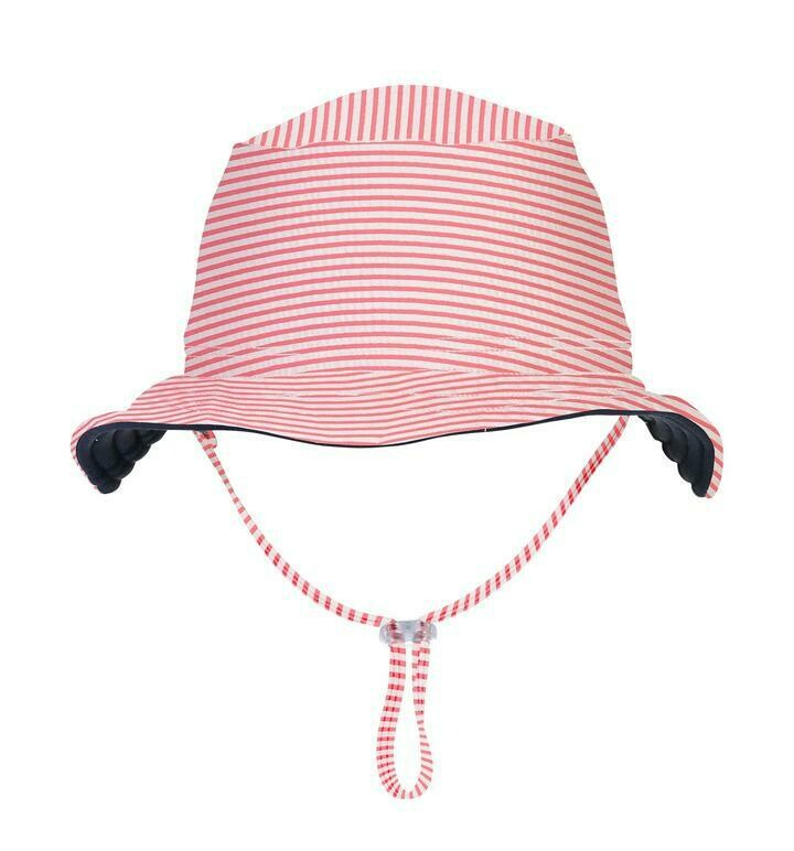 Snapper Rock Red & White Hat