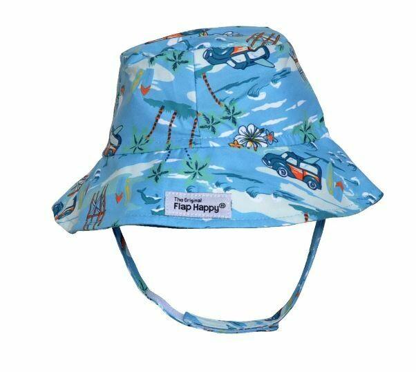 Flap Happy Kona Bay Bucket Hat
