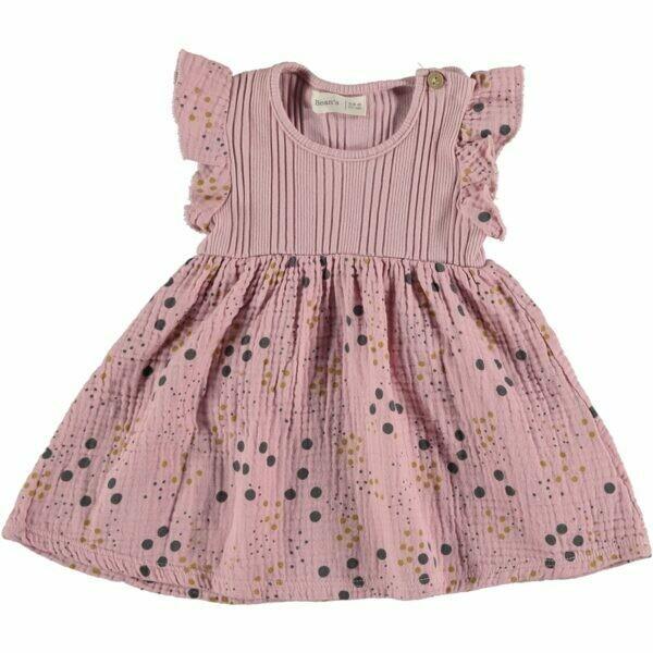 Beans Barcelona Pink Combi Dress S2063234