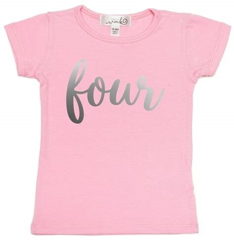 Sweet Wink Four (Girl) S/S Shirt