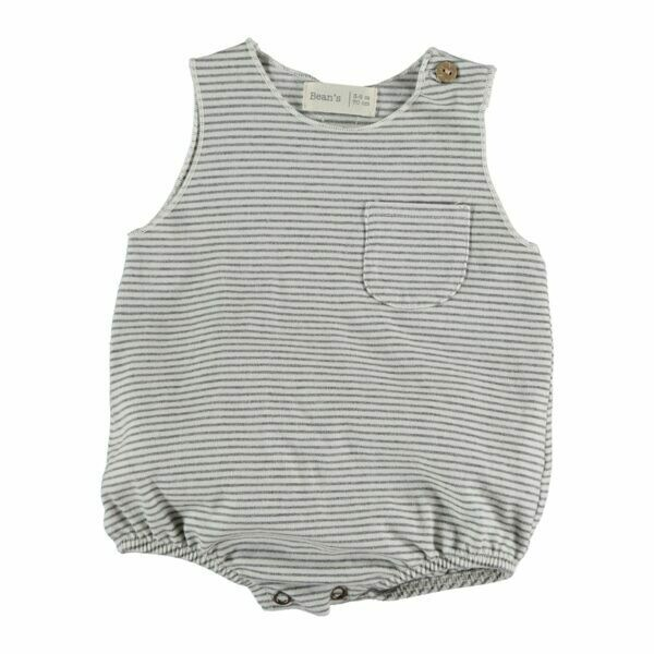 Beans Barcelona Striped Romper S2065185