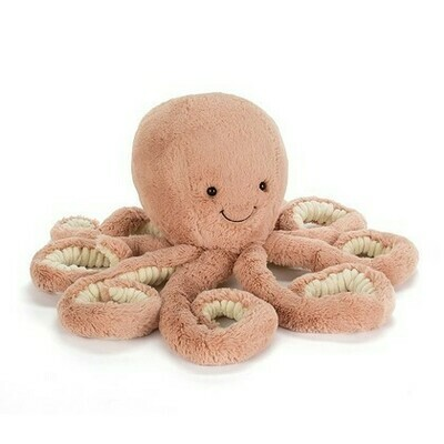 JellyCat Odell Octopus Little 9""